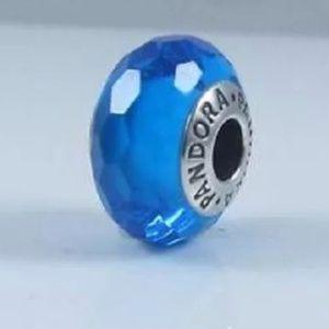 Pandora Fascinating Blue Glass Bead